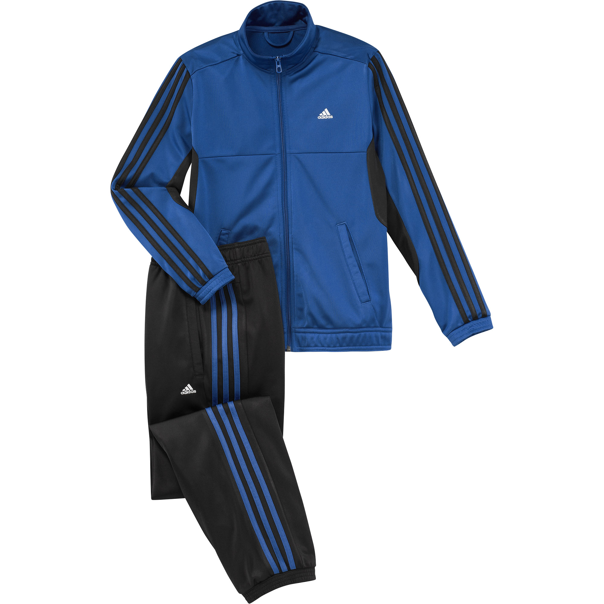 adidas tibero tracksuit kinder jungen trainingsanzug blau. Black Bedroom Furniture Sets. Home Design Ideas