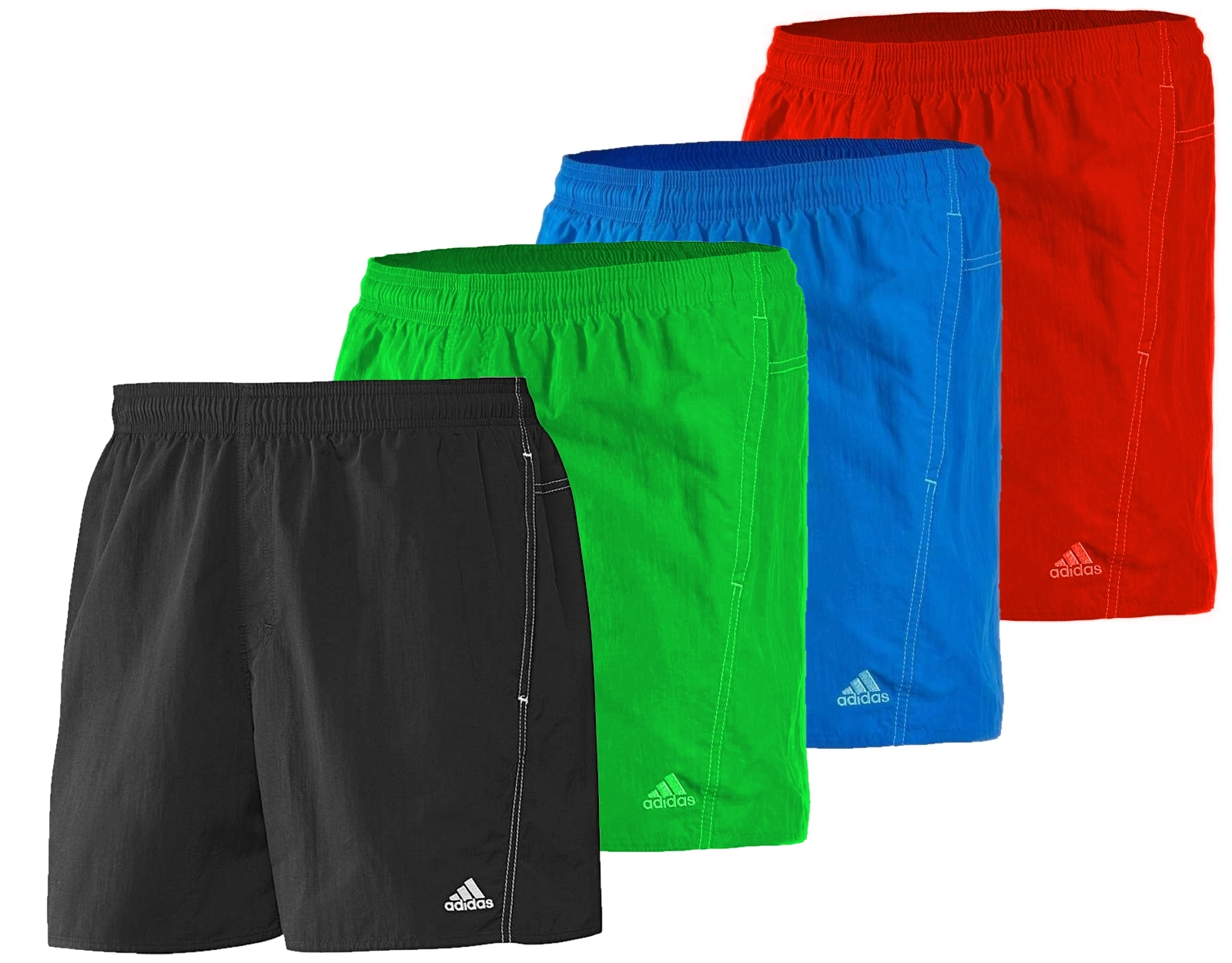 adidas herren m nner badehose badeshorts basic shorts sl kurze bade hose neu ebay. Black Bedroom Furniture Sets. Home Design Ideas