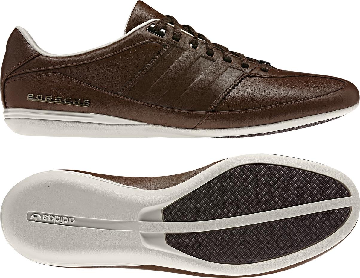 Adidas Schuhe Braun Leder