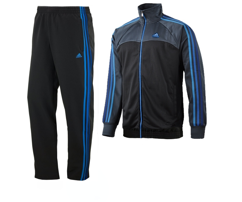 adidas mens tracksuit ess 3s woven tracksuit w63438. Black Bedroom Furniture Sets. Home Design Ideas
