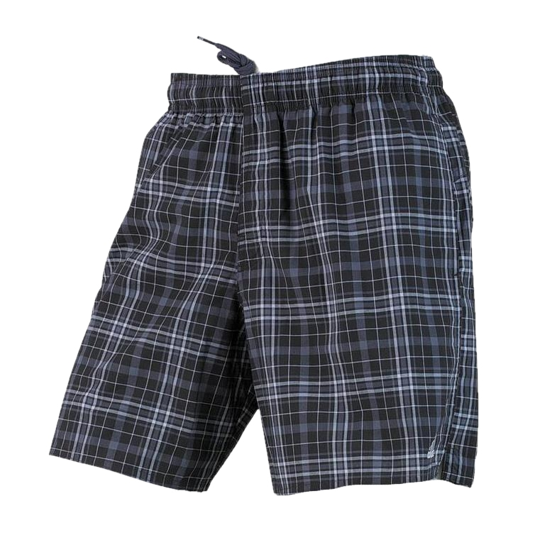 adidas herren badehose badeshorts check sl shorts schwarz grau kariert neu ebay. Black Bedroom Furniture Sets. Home Design Ideas