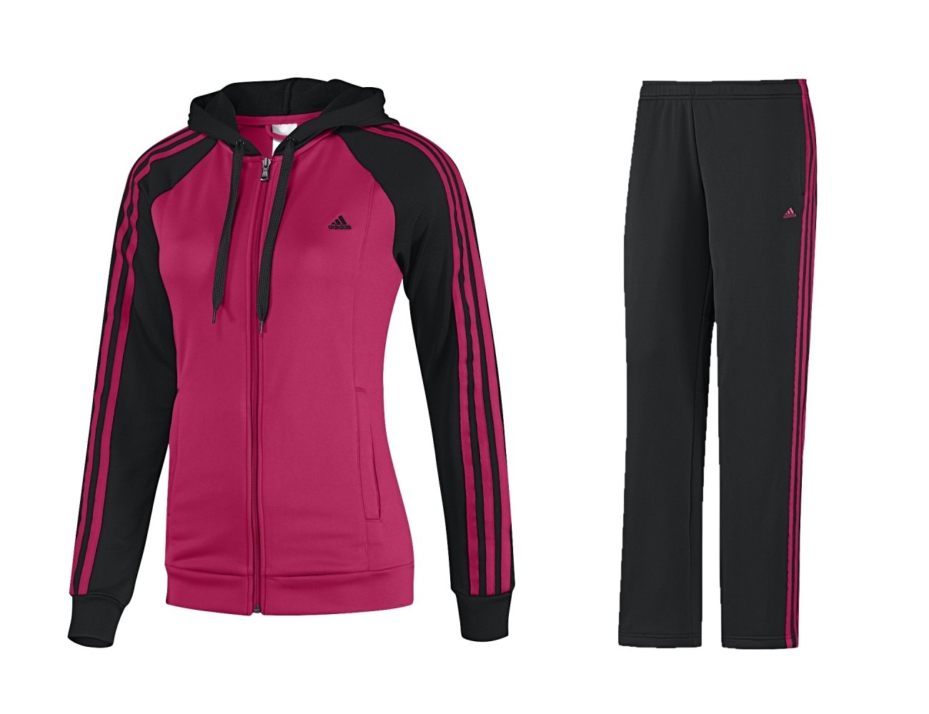 adidas damen trainingsanzug 3s young knit suit women. Black Bedroom Furniture Sets. Home Design Ideas