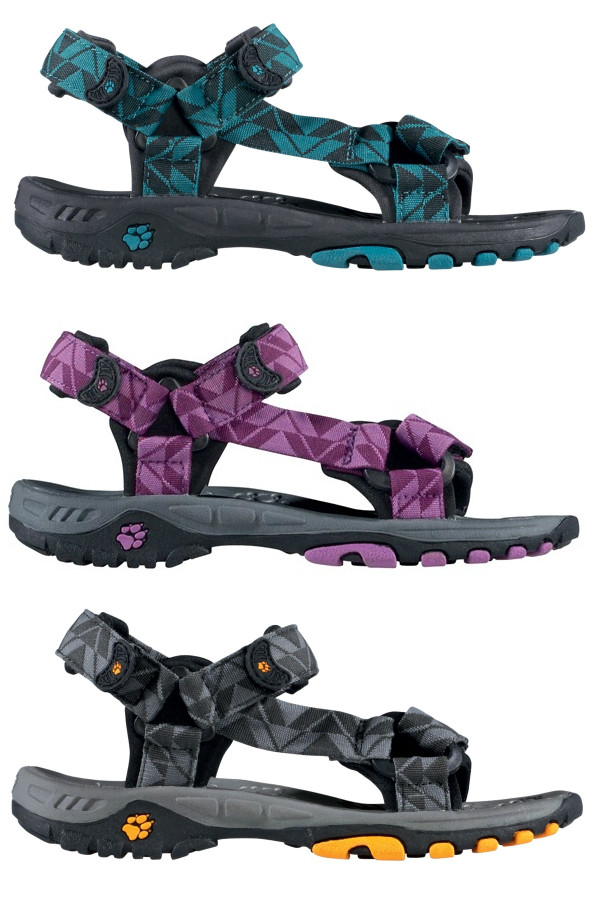 jack wolfskin kinder outdoor sandalen kids seven seas klettverschluss nylon neu ebay. Black Bedroom Furniture Sets. Home Design Ideas