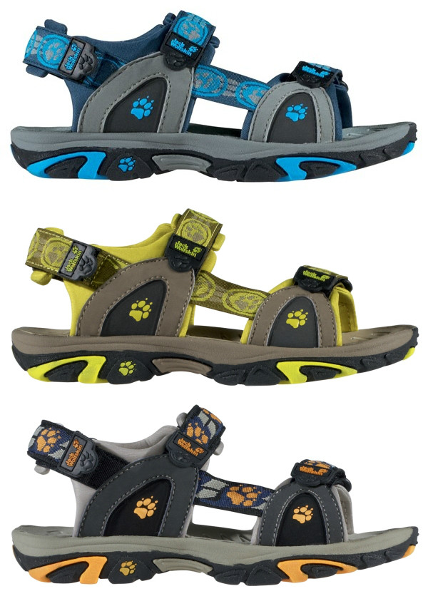 jack wolfskin kinder outdoor sandalen kids oceanside klettverschluss nylon neu ebay. Black Bedroom Furniture Sets. Home Design Ideas