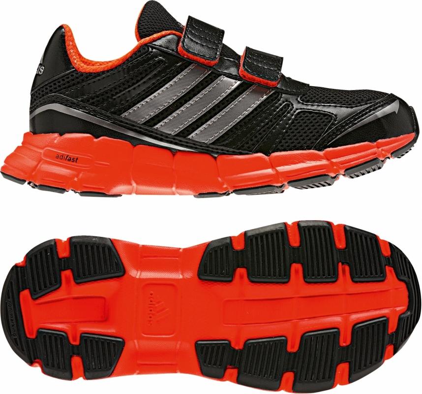 adidas mesh kinderschuhe adifast kinder schuhe schwarz rot. Black Bedroom Furniture Sets. Home Design Ideas
