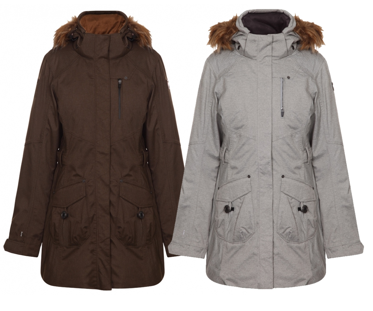 icepeak damen winter outdoor mantel tulia outdoor parka fell kapuzen kragen neu ebay. Black Bedroom Furniture Sets. Home Design Ideas